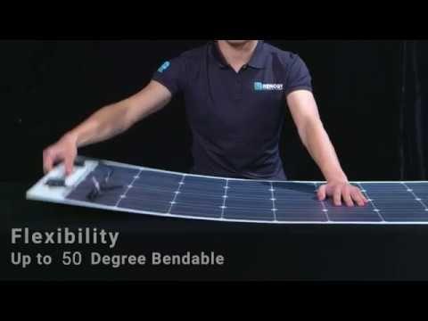 Renogy Flexible Solar Panels Youtube Flexible Solar Panels Solar Panels Solar