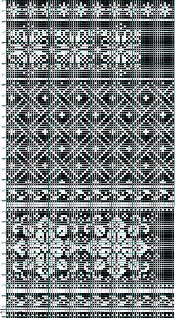 Fair Isle Knitting Free Charts : Fair isle charts mochila pinterest beautiful