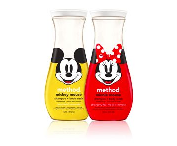 Method + Disney's new line for kids and babies. Cuteness! (And safe ingredients.)