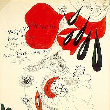 Flávio de Carvalho, Pássaro cibernético, 1969. (Acervo do Museu de Arte Moderna de São Paulo)  Priscila Vannucchi & Marcos Wolff Objetos de Arte | site: www.pvmw.com | facebook: facebook.com/lojapvmw | instagram: instagram.com/pvmw.objetos.de.arte   #pvmw #lojapvmw #design #art #arte #toyart #sp #decoration #decor #ceramics #artwork #urbanart #saopaulo #brazil #architecture #mam #mamsp #flaviodecarvalho #draw #illustration #desenho