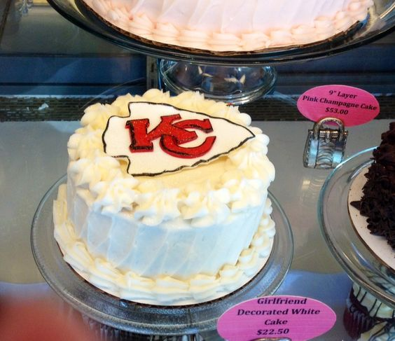 3 Women and an Oven bakery supports our local Kansas City Chiefs football team. You can too with this tasty treat at your football watching parties!  http://3womendesserts.com/