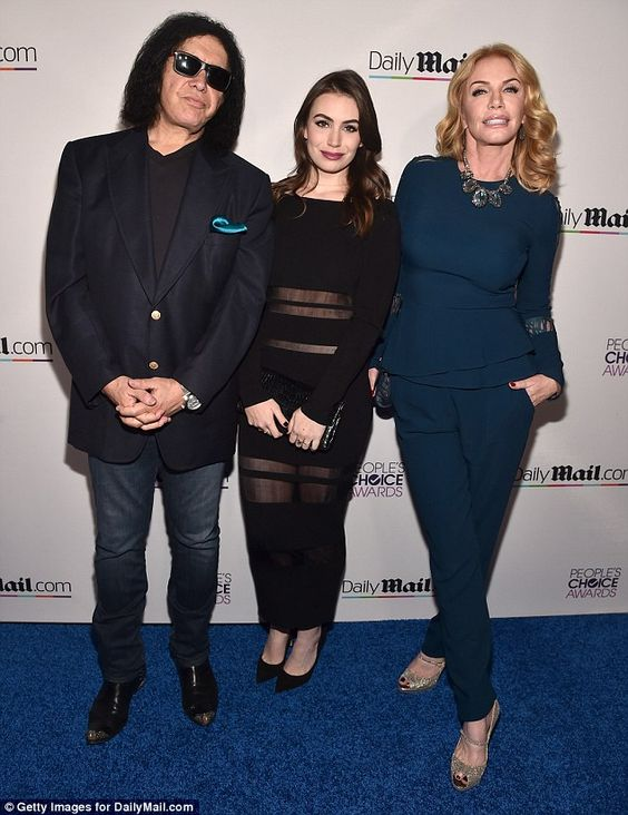 Gene Simmons' daughter Sophie says she was told she was 'not small enough' | Daily Mail Online