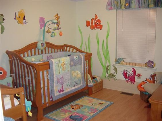 Finding Nemo Baby Room Stuff