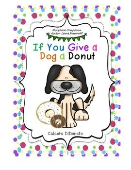if you give a dog a donut story companion pack laura numeroff math and donuts. Black Bedroom Furniture Sets. Home Design Ideas
