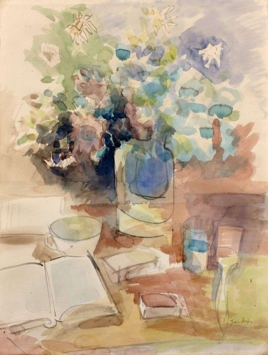 Nature Morte Au Livre Ouvert Still Life With Open Book Jean