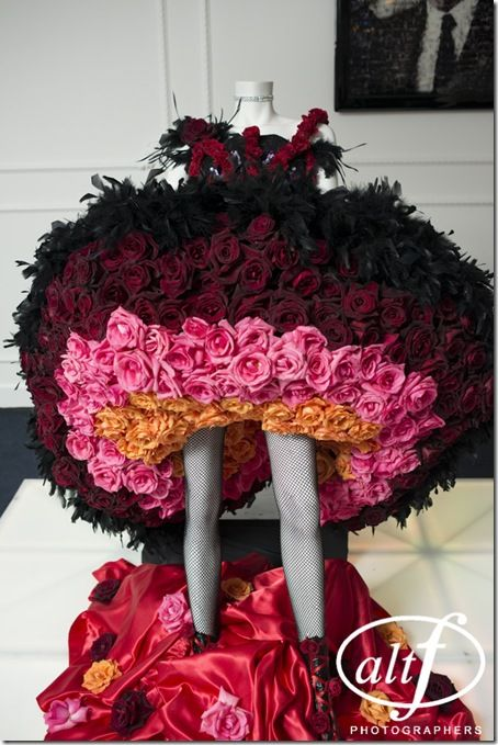 Rose and feather dress. How do we get one? :)