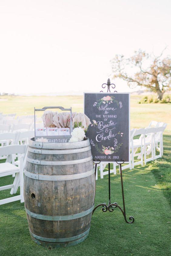 Barrels, Wine barrels and Rustic chic on Pinterest