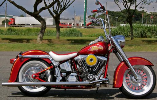 Red Choppers HD Fat Boy Cassino
