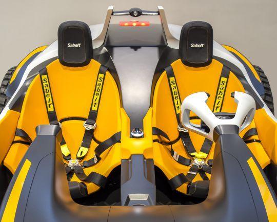 Hyundai Kite Un Concept De Buggy Electrique Qui Devient Jet Ski