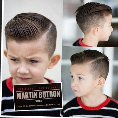 The Most Fashionable Haircuts For Boys 2018 2019 Photos Trends Hairstyles For Boys Boy Hairstyles Kids Hairstyles Boys Toddler Boy Haircuts