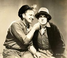 "Wallace Beery and Marie Dressler, ""Tugboat Annie"", 1933"