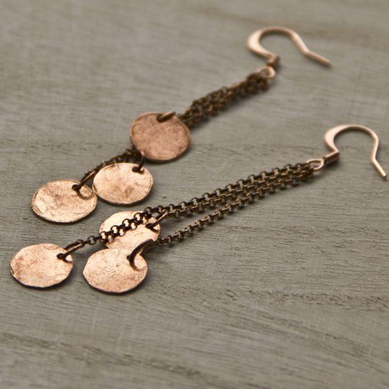 Embergrass Jewelry. #handmade #copper #jewelry