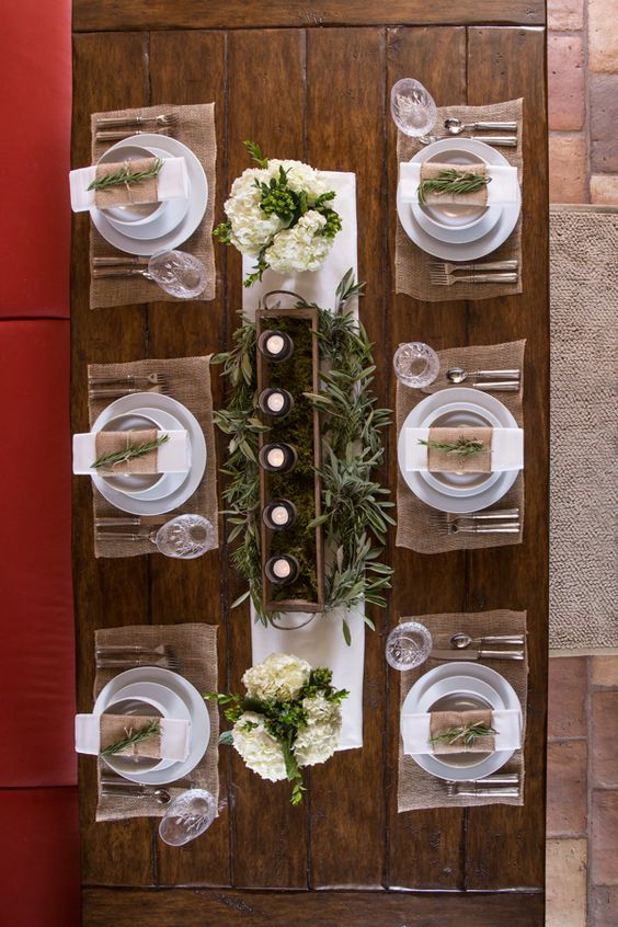 Clean Simple Themed Thanksgiving Tablescape Our Elegant