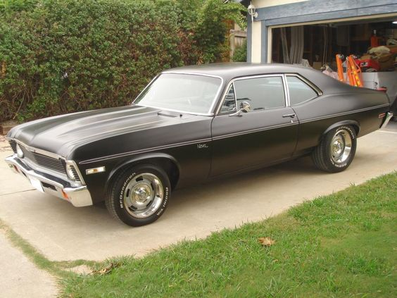 1969 Chevy Nova. 2nd choice of dream car.