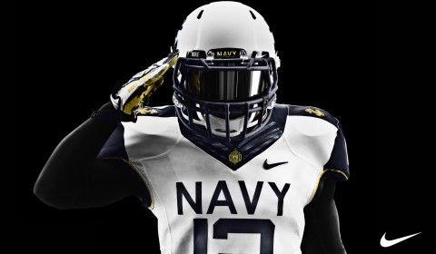 Nike Pro Combat Nike Pros And Wallpapers On Pinterest Navy Football Navy Midshipmen College Football Uniforms