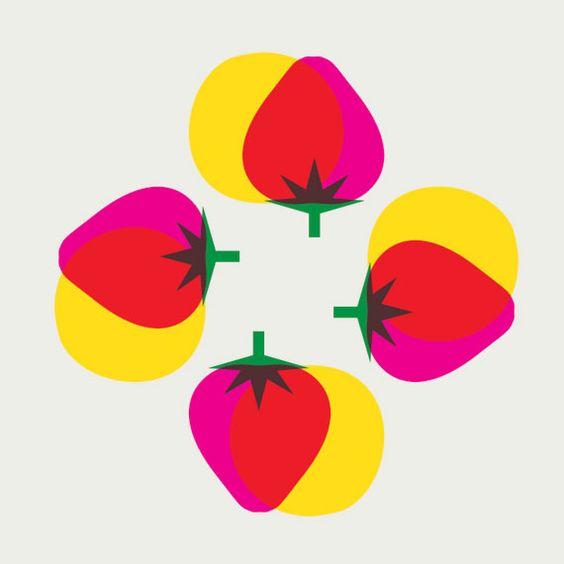 majamoden:  'jordgubbar' by Maja Modén