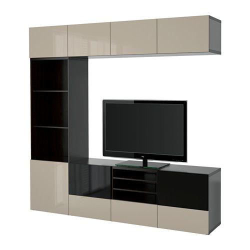 Vitrine Ikea Besta ~ BESTÅ TV storage combinationglass doors IKEA The drawers and doors