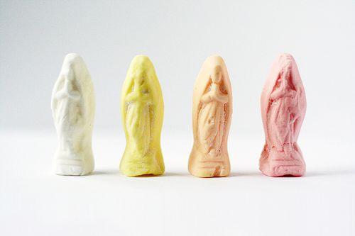 Virgin Mary Chalk