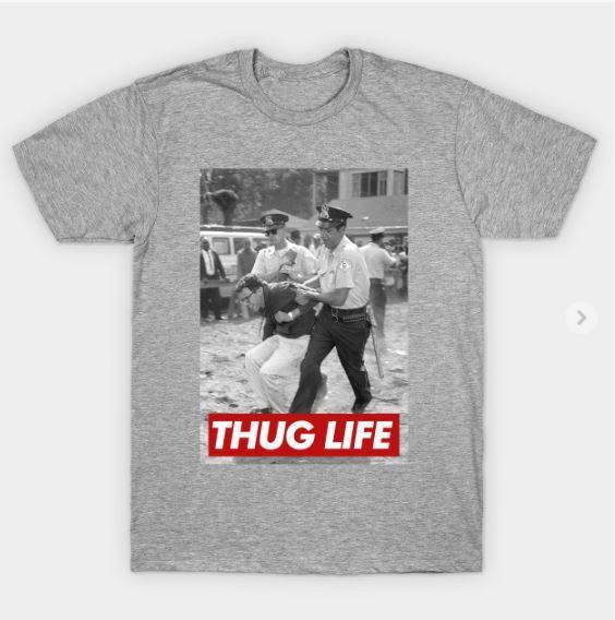 Bernie Sanders Thug Life T Shirt Who Needs Clothes Thug Life T Shirts Thug Life Thug Life Shirts