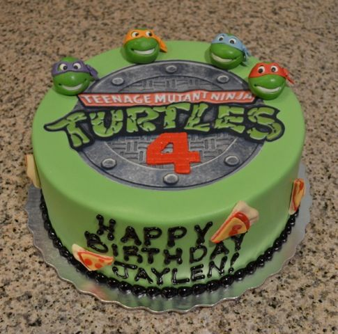 Ninja Turtle Birthday Cake Kroger