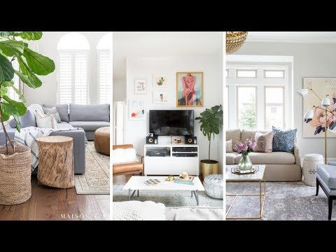 10 Small Living Room Makeover Ideas Youtube Decoracion En 2019