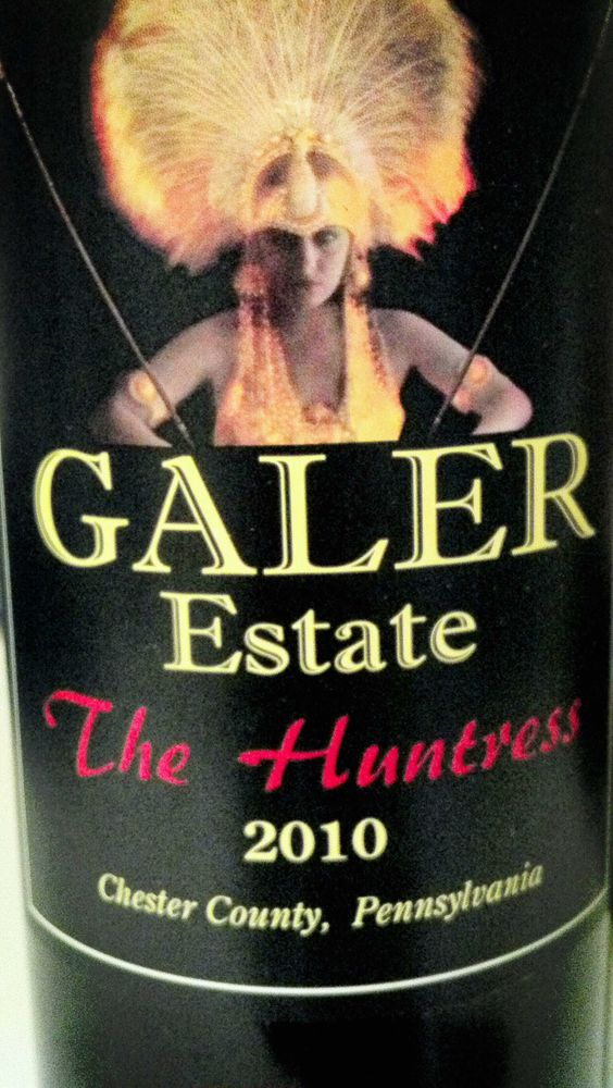 "Galer Estate ""The Huntress"": Merlot and Petit Verdot.  Velvety merlot mouthfeel and tannins, with cocoa, white pepper, and dark fruits."
