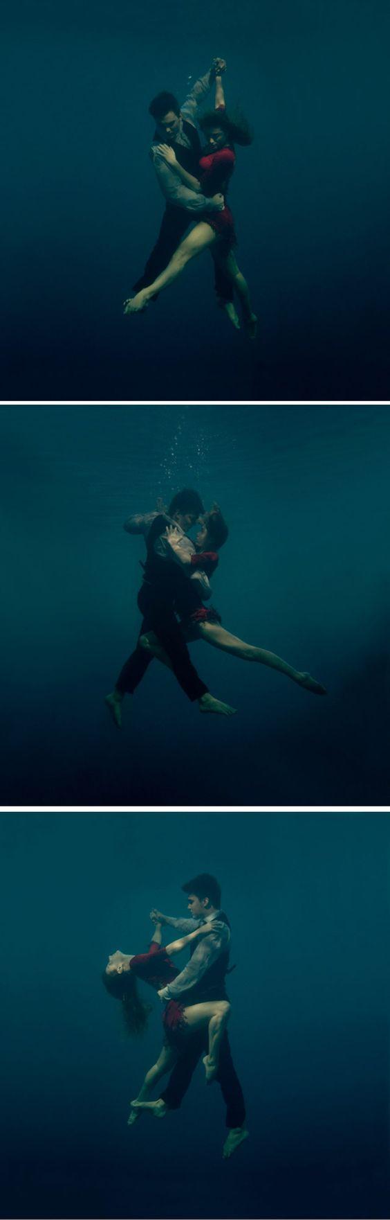 Tango under water