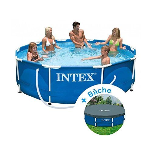 Pack Piscine Tubulaire Et Epurateur Intex Metalframe 3 05 X 0 76 M