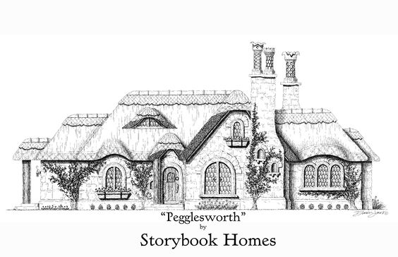 Copper cottages and cottage in on pinterest for Storybookhomes com