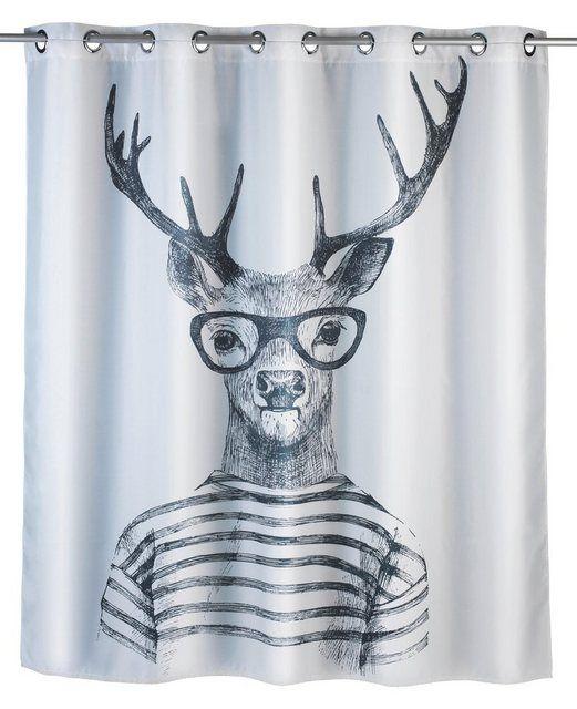 Anti Schimmel Duschvorhang Mr Deer Vorhange Aufhangen