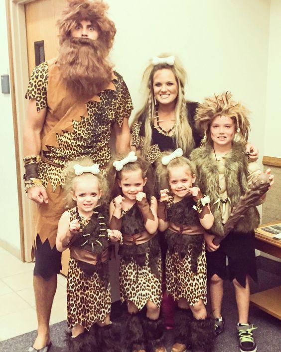 Neandertaler Steinzeit Kostüm selber machen | Kostüm Idee zu Karneval, Halloween & Fasching
