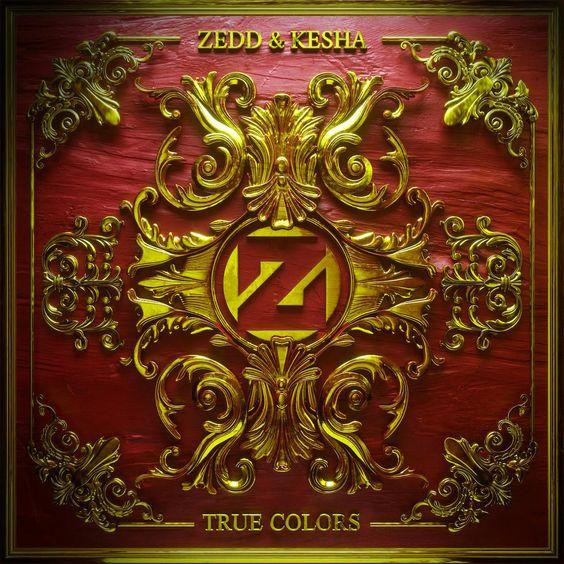 Zedd, Kesha – True Colors (single cover art)