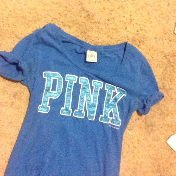 VS PINK top Only worn a few times, super cute and in PERFECT condition PINK Victoria's Secret Tops