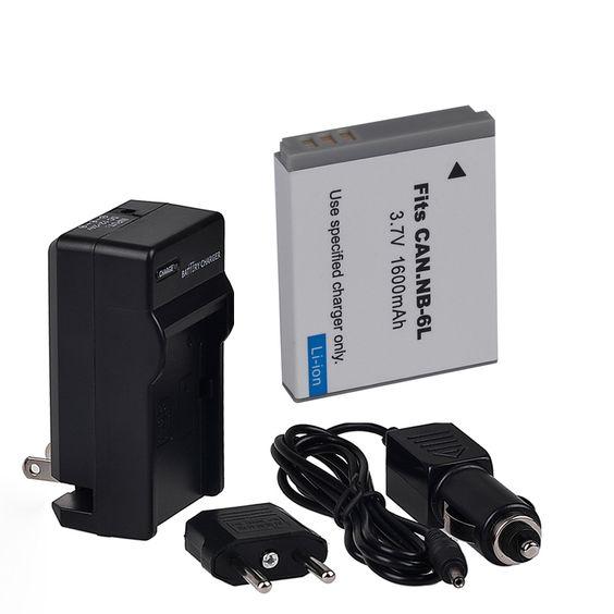$11.59 (Buy here: https://alitems.com/g/1e8d114494ebda23ff8b16525dc3e8/?i=5&ulp=https%3A%2F%2Fwww.aliexpress.com%2Fitem%2FNB-6L-Battery-Packs-car-charger-charger-for-canon-IXUS-85-IS-PowerShot-S90-Digital%2F2022451835.html ) NB-6L Battery Packs+car charger + charger for canon IXUS 85 IS, PowerShot S90, Digital IXUS 95 IS Free Shipping for just $11.59