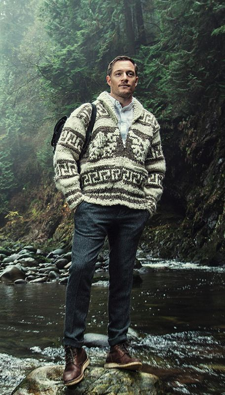 Tahmoh Penikett modeling for The 100 Mile Outfit-omg this is the sexiest shoot EVER
