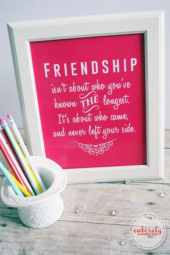 Quotes About Friendship Gifts : Friendship gifts for my girlfriend and quotes