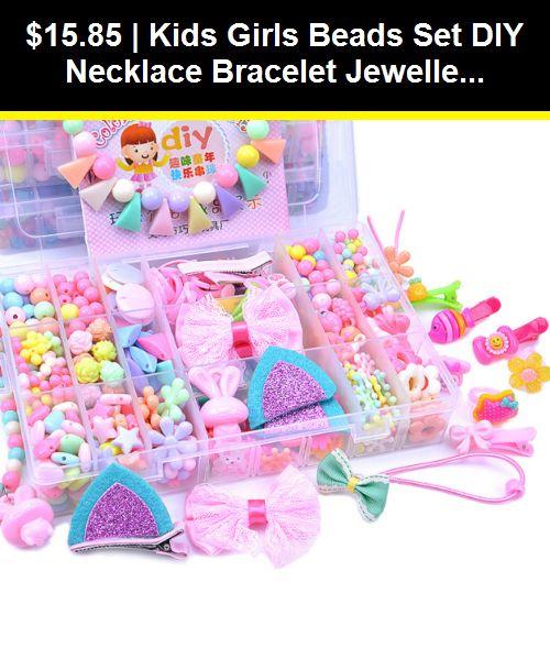 Girls jewellery making set