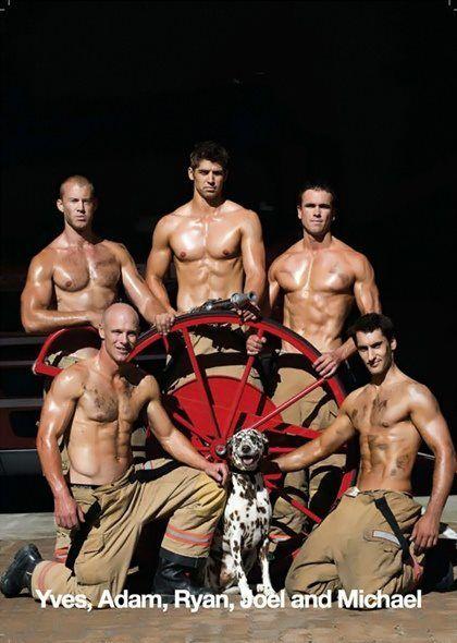 Speaking, naked male fireman calendar sorry