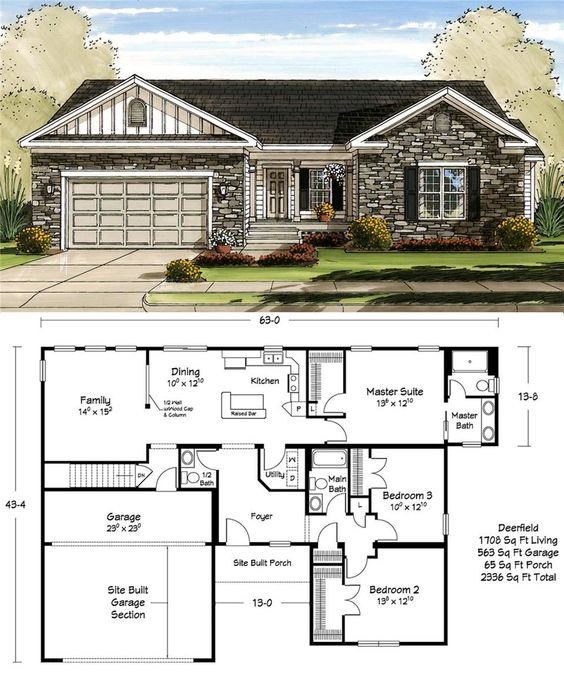 1700 square feet never looked so good popular plans for Ranch house plans 1700 square feet