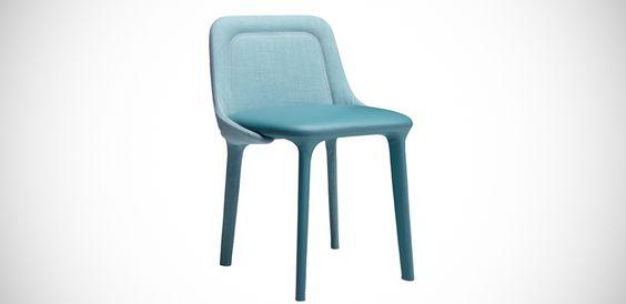 Moderne Stühle Lepel von Casamania by Frezza, Design Luca Nichetto