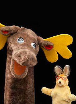 Mr. Moose and Bunny Rabbit, 1955(Rotation 1) -- from the Captain Kangaroo show