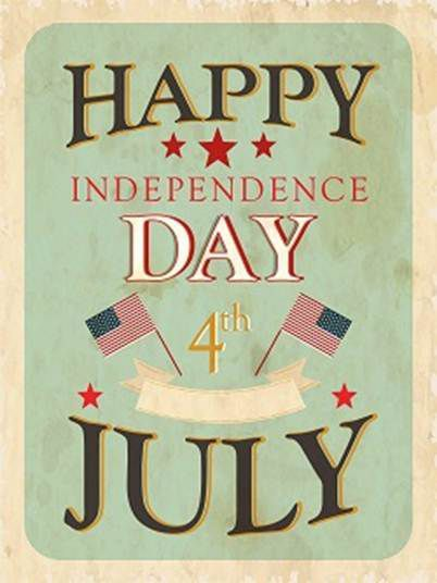 Happy 4th of July to all my dear US friends that are following...