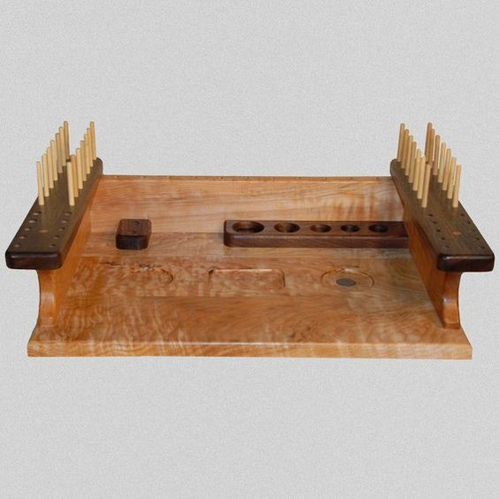 Custom Made Fly Tying Bench Fly Tying Station Pinterest Fly Tying And Benches