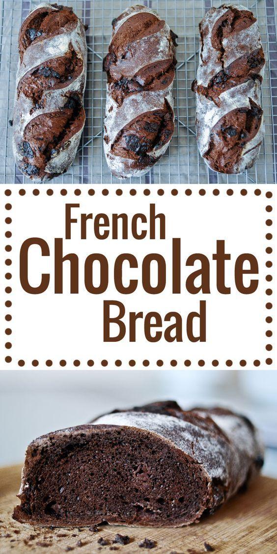 Chocolate Starter Bread