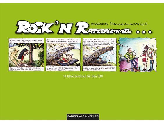 Keine Ausrüstung aber perfekt für Ruhetage...Erbses Rock' n Ratzefummel Klettercomic...