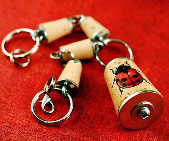 Ladybug Charm Bracelet by Uncorked