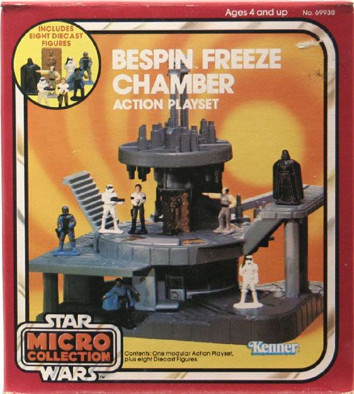 Kenner Star Wars Toys : Kenner star wars micro collection collections