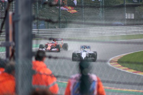 Fernando Alonso and Felipe Massa at Spa-Francorchamps, Belgium for the 2014 F1 race. (c) WonderfulThings #photography #f1