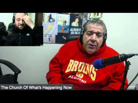 Joey Diaz goes off at the end of Church #245 Including National Anthem