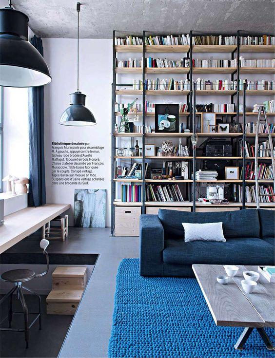 L 39 usine r ves d 39 anne hubert industrial living rooms for Anne marie cadieux maison